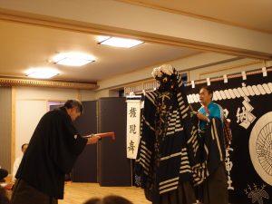 UNESCOの無形文化遺産にも指定されている早池峰神楽の権現舞