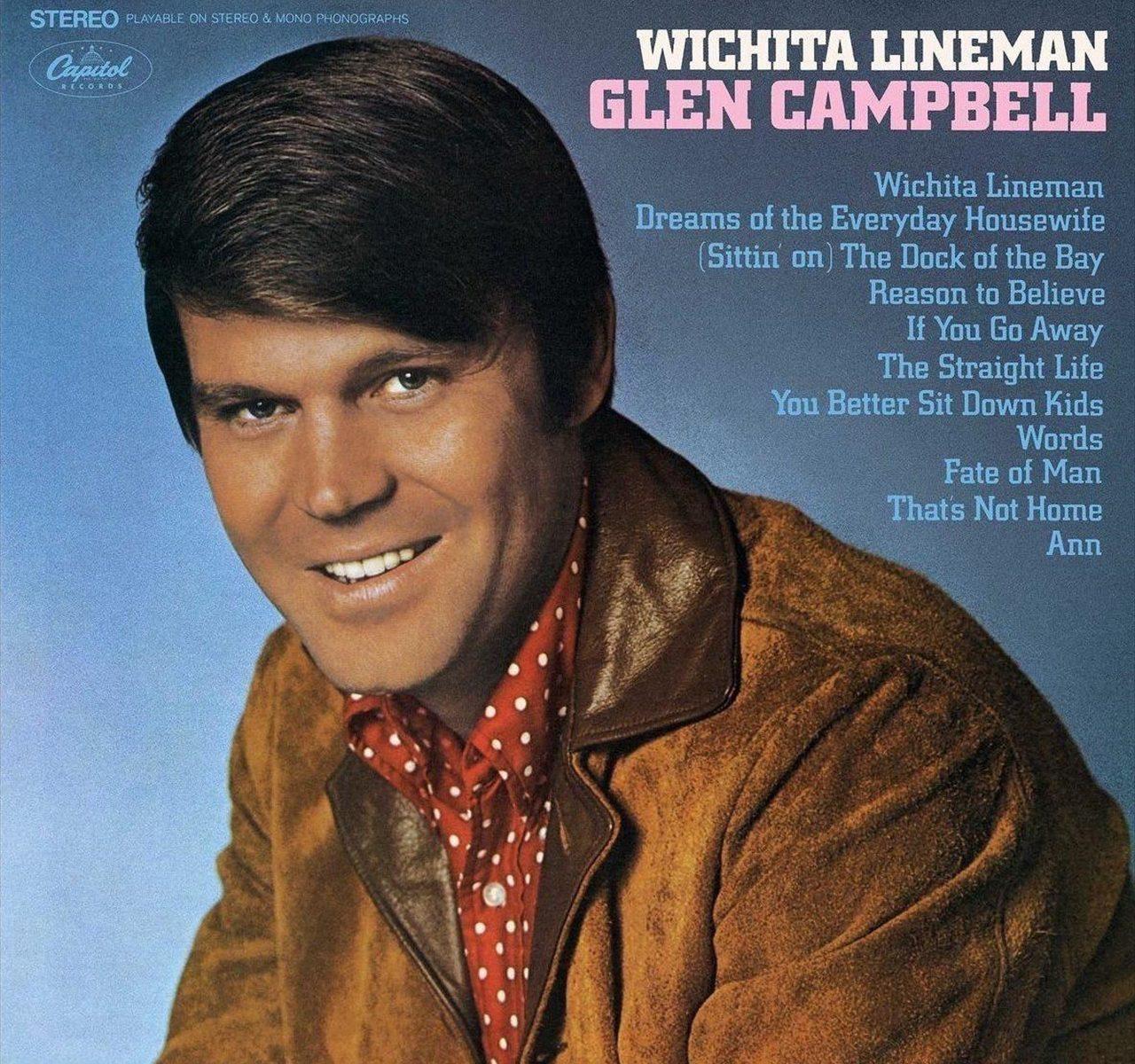 彼のアルバム「ウイチタラインマン」