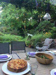 森の仙人とご飯を食べた