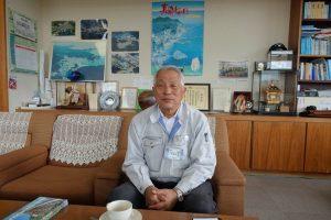 東日本大震災で壊滅的な被害を受け、そこからはい上がってきた岩手県田老町漁協の小林組合長。むちゃくちゃ、いい人です。