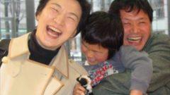 鳥取の教員とその教員の教え子の子供 私が一番好きな写真
