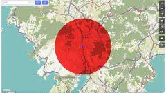 2045 #13 - ナガサキの地図